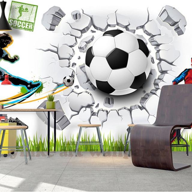 Custom Modern Wall Mural Wallpaper 3D Sport Art Wall