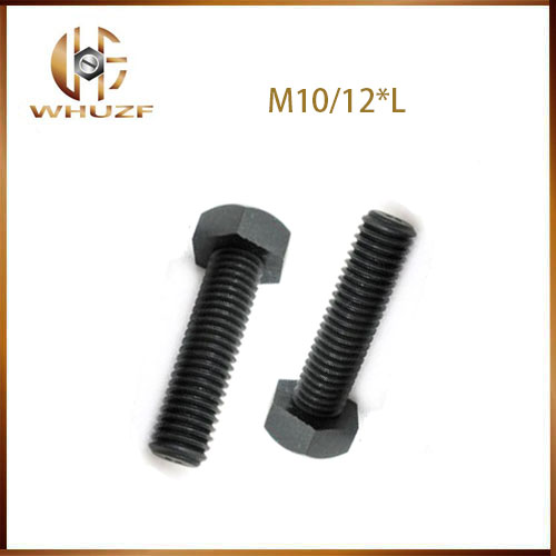 Free shipping <font><b>M10</b></font>/12mm Black <font><b>Nylon</b></font> Hexagon Socket Bolt Plastic Hex Head Set <font><b>Screw</b></font> image