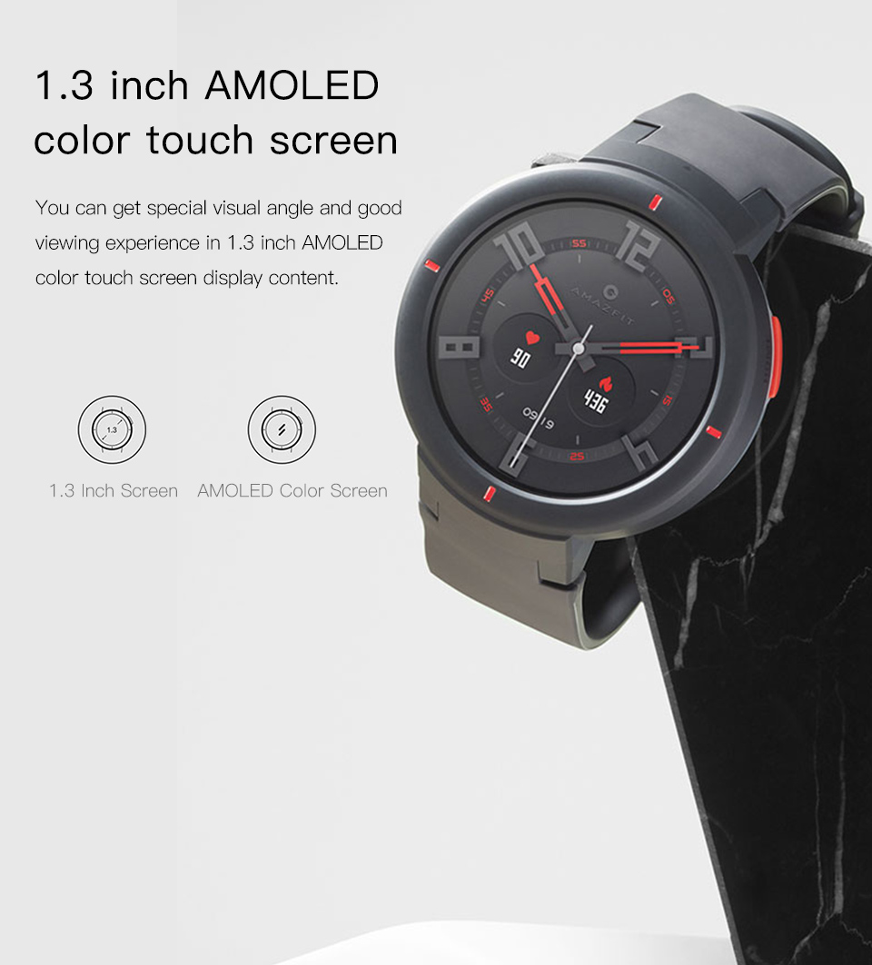 Verge Smartwatch With HR Sensor GPS