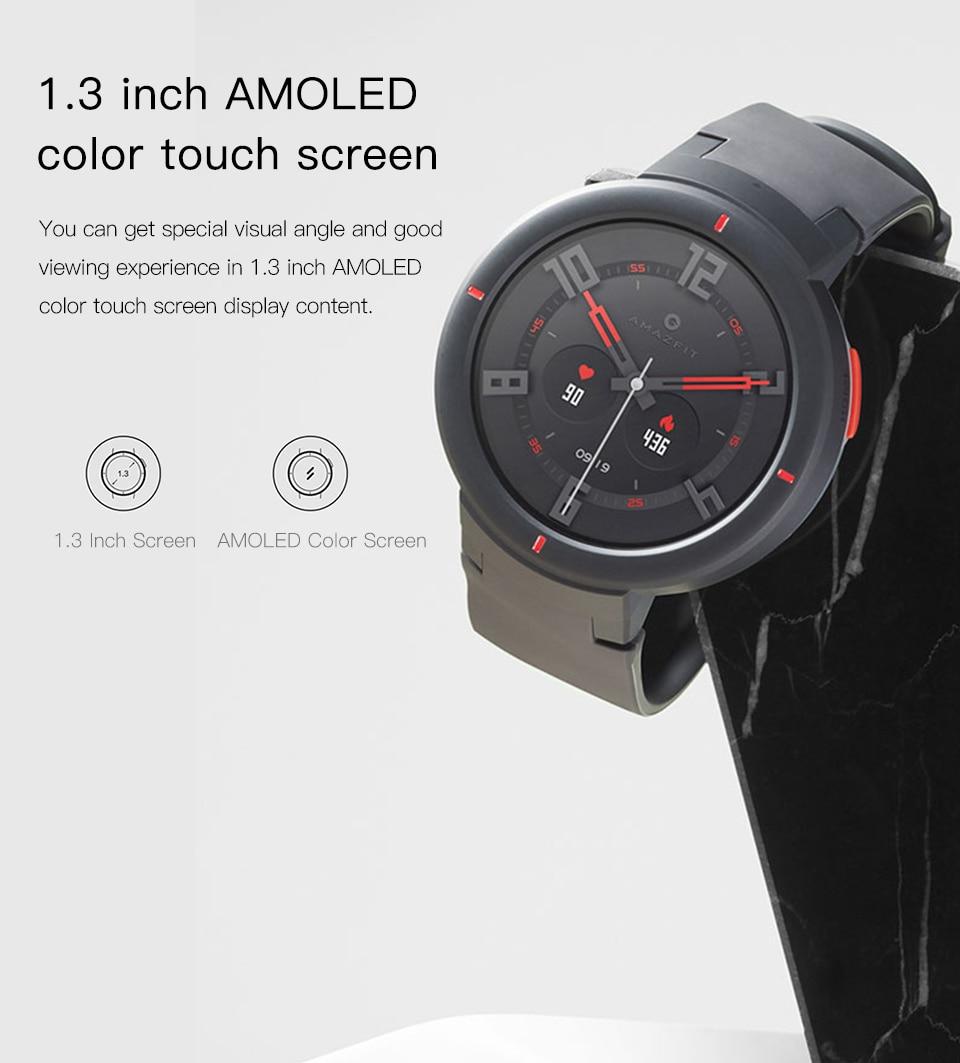 Verge Smartwatch With HR Sensor GPS