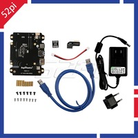 New Arrive X820 Expansion Board Kit With DC 5V 4A Power Adapter EU US Plug For