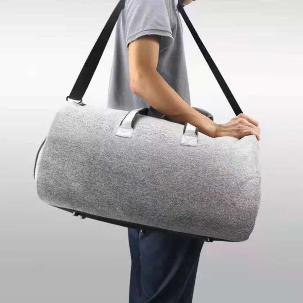 1 Pc sac de vêtement de voyage Portable bandoulière grande capacité sac de rangement continuer à accrocher valise vêtements voyage d'affaires sac à main