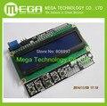 O Envio gratuito de LCD Teclado Escudo LCD1602 LCD 1602 Módulo de Display Para UNO ATMEGA328 ATMEGA2560 raspberry pi tela azul