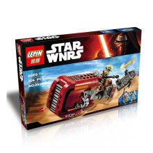 LEPIN 05001 Rey's Speeder Assembled Star Wars 7 Building Blocks MiniFigures The Force Awakens Compatible With LEGOED Star Wars