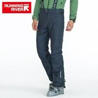 RUNNING RIVER Brand Men Winter Ski Pants With Shoulder Straps 3 Colors 6 Sizes Snow Pants