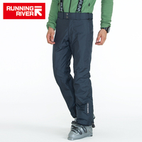 RUNNING RIVER Brand Men Winter Ski Pants With Shoulder Straps 3 Colors 6 Sizes Snow Pants