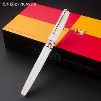 PICASSO 966 Branco/Preto/vermelho roller ball caneta paz mundial comemorativa Caneta de Escrita. não caixa