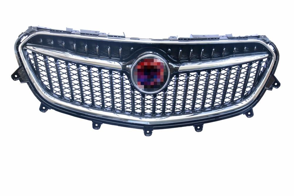1 pz Nuovo Anteriore Superiore Griglia Cromata Griglia Per 2017-2018 Buick Encore