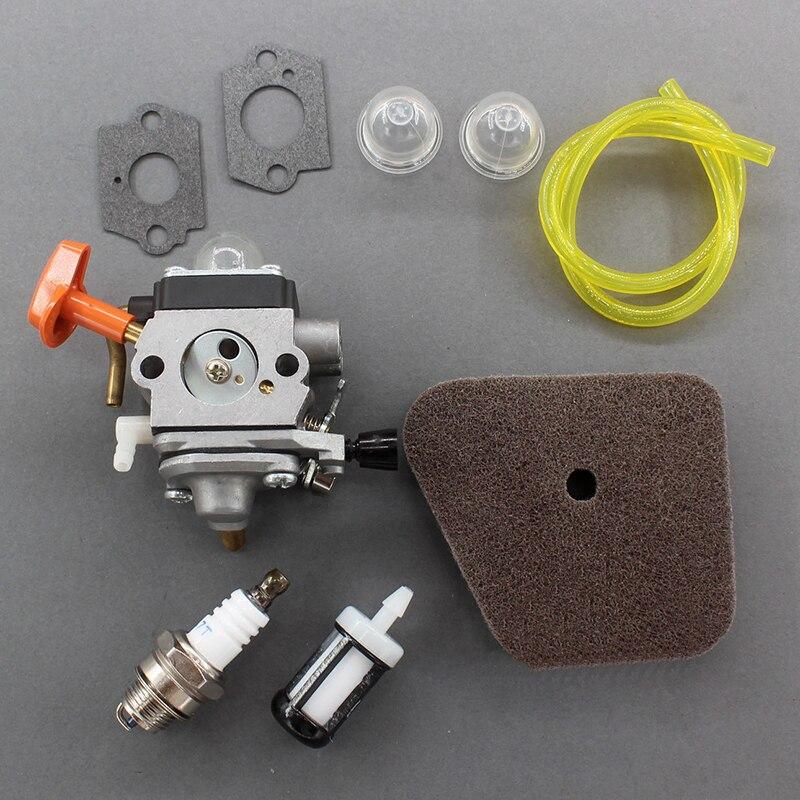 Kit de carburateur pour Stihl FS100R FS110 FS110R FR130T FS130 FS130R HL100 HL100K carburateur filtre à Air pièces de moteur de pelouse