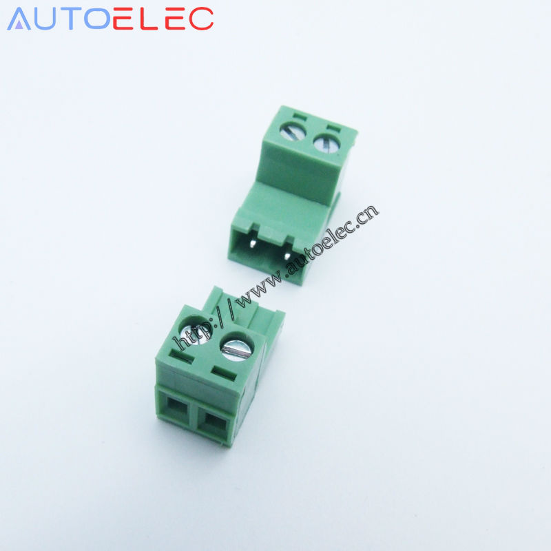 Aliexpress.com : Buy 20pcs 5.08mm Pitch 2 Pins male&female Pins PCB ...
