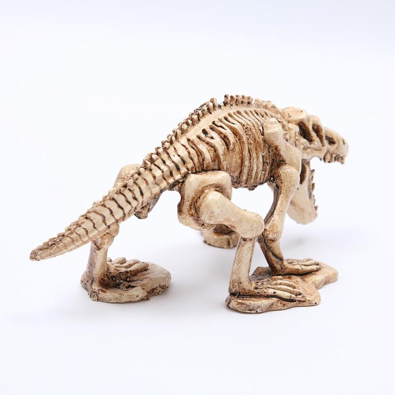 MRZOOT resina modelo de esqueleto de dinosaurio acuario decorativo ...