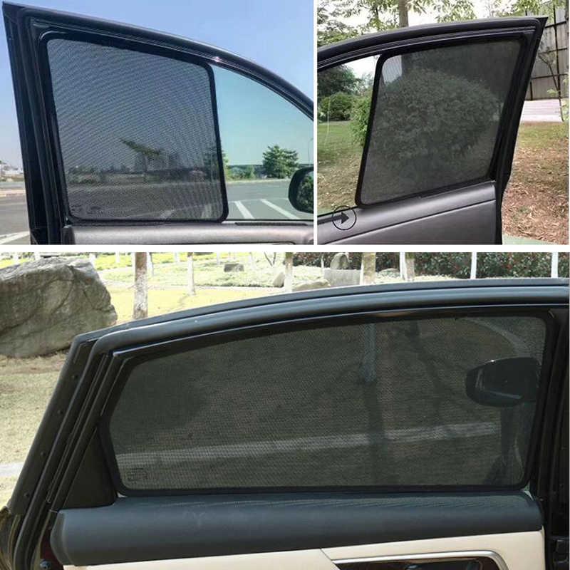 Car Window Shades >> Automotive Car Window Curtain Visor Auto Side Windows Shade Sunshades Front Rear Window Sun Block Blinds For Bmw E90 F10 F15