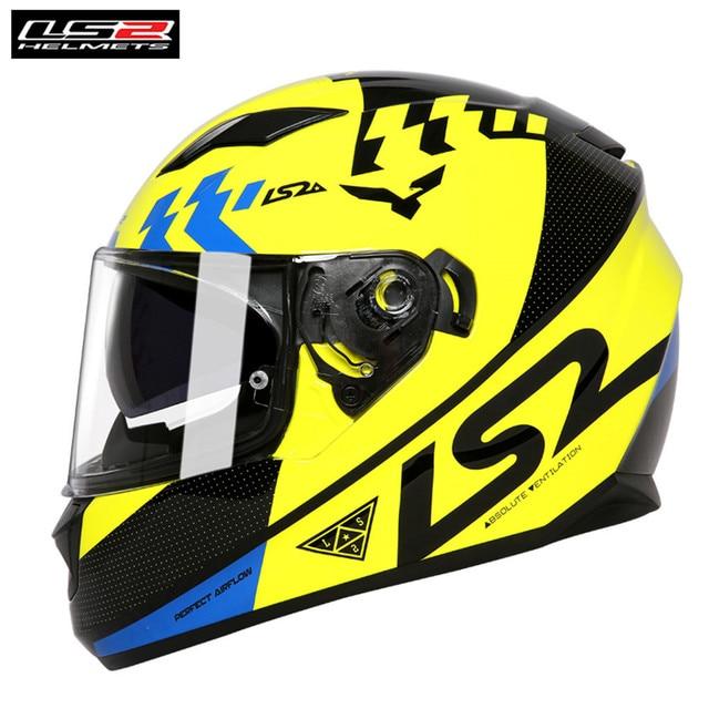 15109d5901f LS2 FF328 corriente de cara completa para motocicleta casco de montar Cascos  Casque Moto Capacete Dual