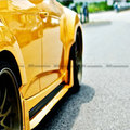 For Hyundai Veloster Lordpower Wide Body FRP Fiber Glass Side Skirt