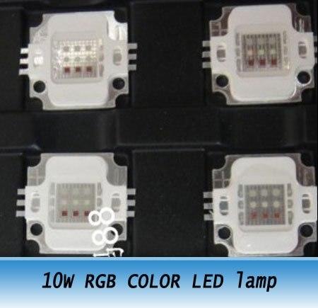 High Power NEW 10W RGB COLOR LED Blub Lamp Light 10pcs