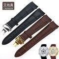 Extremidade curva 21mm pulseiras de relógio para citizen para pulseira para bt0001-12e bl9002-37 horloges correa reloj cinta faixa de relógio de qualidade superior