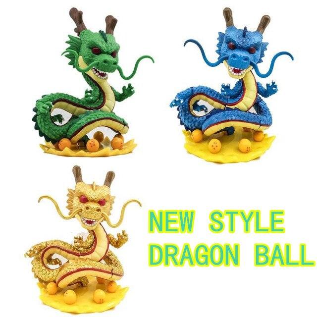 3 cor 15 cm Dragon ball z figuras de ação brinquedo Novo Dragonball figuras 1 figura do dragão shenlong