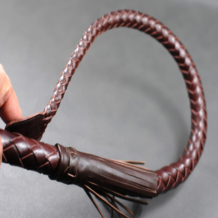 купить Genuine Leather sex whip spanking paddle bdsm whip bondage harness fetish toys adult sex game sex products for couples недорого