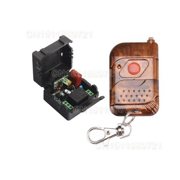 Smart home 220 V 1 Canales de Relé Interruptor de La Luz de Control Remoto Inalá