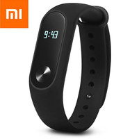 Original Xiaomi Mi Band 2 Smart Watch Bracelet Wristband With Bluetooth 4.0 Waterproof OLED Screen Heart Rate Monitor For Phones
