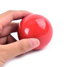 52,5 мм красный бильярдный тренировочный мяч смола бильярдный шар Кий Мяч для бильярда и снукера аксессуары шары для пула