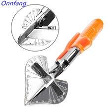 Onnfang cable de revestimiento de manopla de varios ángulos, 45 180 grados, cortador de conductos de manguera de plástico PVC/PE, tijera de corte, herramienta de fontanería para el hogar