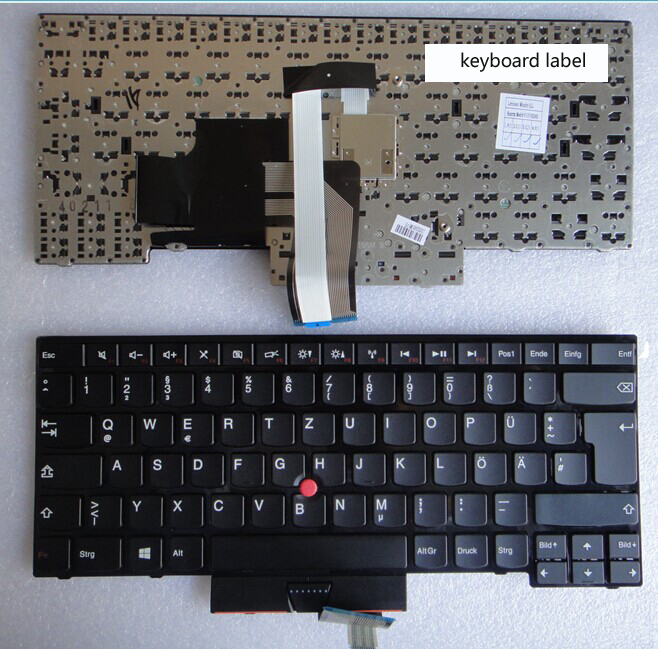 New notebook laptop keyboard for  THINKPAD E330 E335 E430 E435 E430C E430S  GR/German layout new gr laptop keyboard with frame for samsung 355v5c 350v5c 355 v5x german keyboard