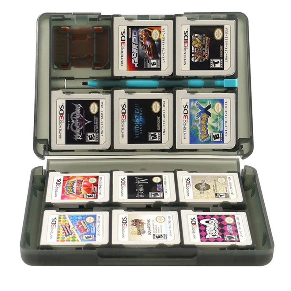 2ds Case 28 in 1 Game Memory Card Cases Plastic Micro SD Holder for Nintend  NDS NDSi New 3DS LL XL Cartridge Storage Box