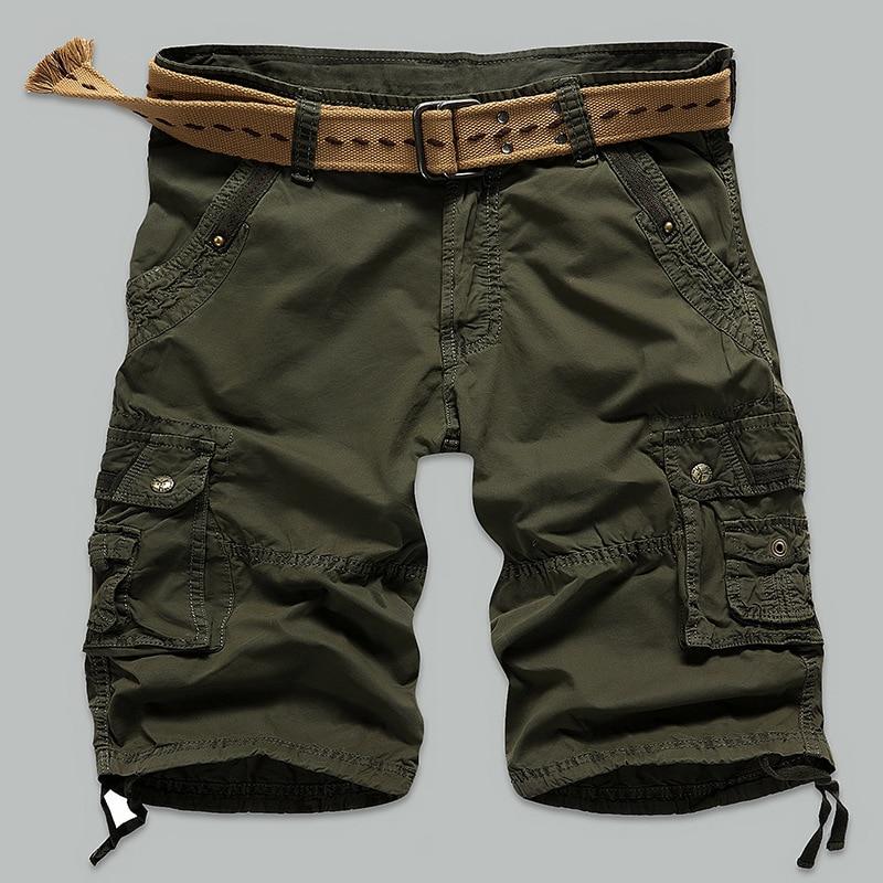 Cargo Shorts Men Cool Camouflage Summer Hot Sale Cotton Casual Men ...