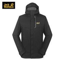 JackWolfskin осень 18 Новый ветрозащитный водостойкий тепловой дышащий три в одном Softshell для мужчин зимние походные куртки 5012472