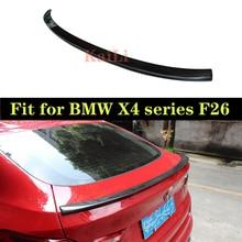 Carbon Fiber Auto Racing Spoiler Rear Lip Wing for BMW X4 F26 2015-2017