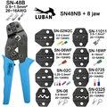 Обжимные плоскогубцы челюсти SN-48B SN-02C SN-06WF SN-11011 SN-02W2C SN-0325 высокая твердость челюсти костюм наборы инструментов