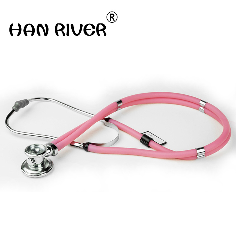 Stethoscope multifunctional double tube professional doctor stethoscope stethoscope to hear cardiac sound obsessive doctor dress stethoscope