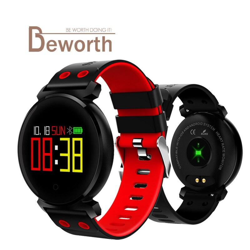 K2 Bluetooth Smart Watch Sleep Heart Rate Blood Pressure Blood Oxygen Monitor Remote Camera Smartwatch For