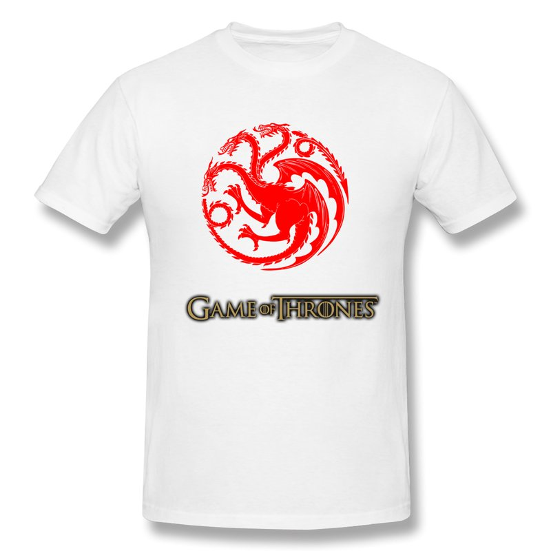 New 2015 Fashion 100 Cotton T Shirt Men S Song Of Ice And Fire Game Of