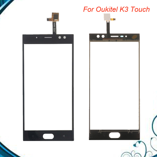 For Oukitel K3 Touch Screen Glass 100% Guarantee Tested Digitizer Glass Panel Touch Replacement For OUKITEL K3