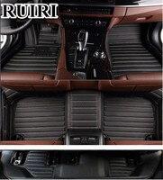 Best quality! Custom car floor mats for Hyundai Santa fe 7 seats 2012 2006 waterproof car carpets for Santafe 2007.Free shipping
