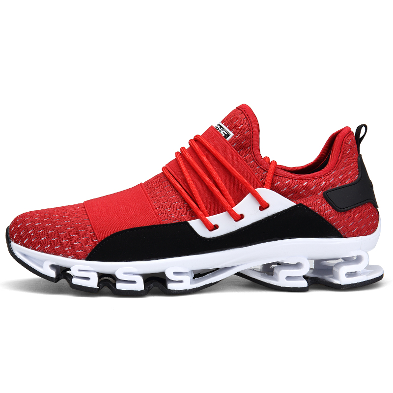 Outdoor Sports Shoes 2018 New Design Soles Running Shoes for Men Breathable Cushioning Men Sneakers Athletic Shoes Male 2016 autumn men running shoes women bounce athletic shoes couple sports shoes cushioning lifestyle men sneakers