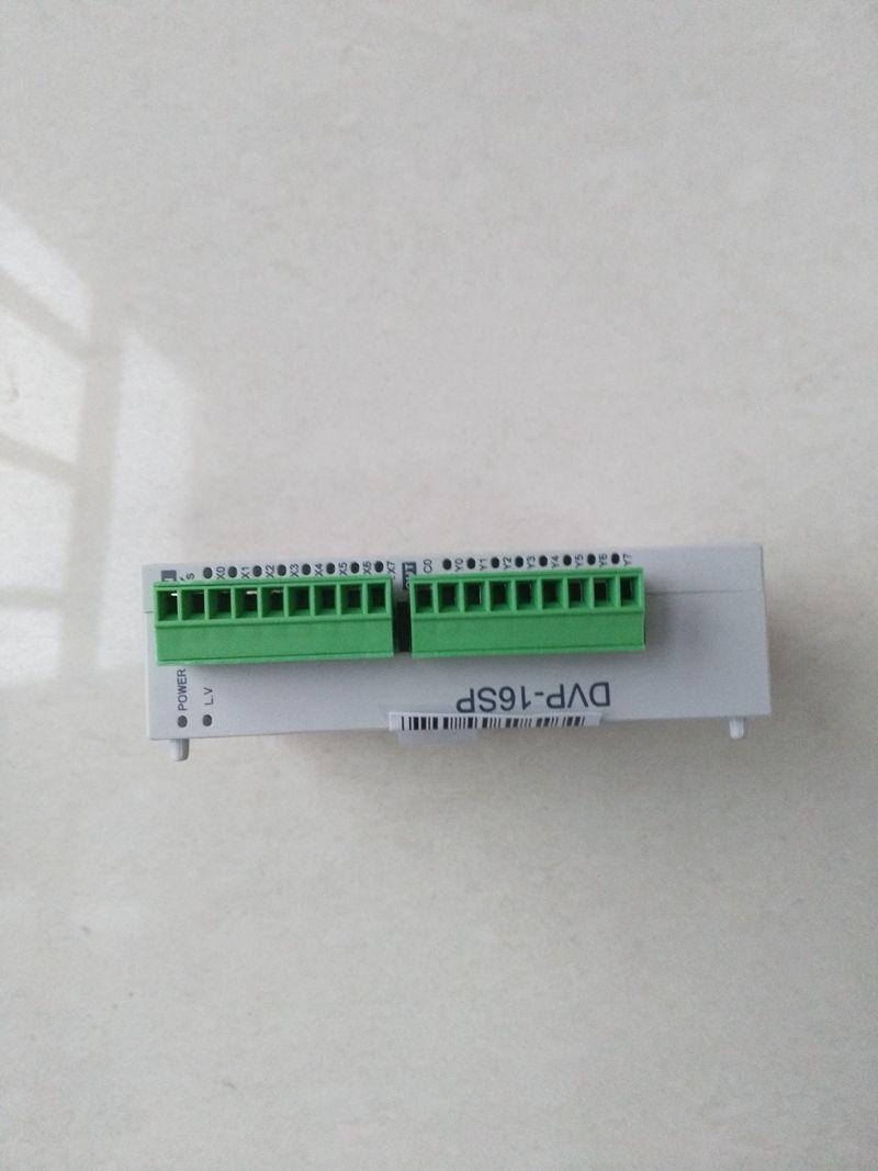 New Original DVP16SP11R DC24V PLC 8DI 8DO relay Module new original k521 08dx expansion i o module 8di dc24v