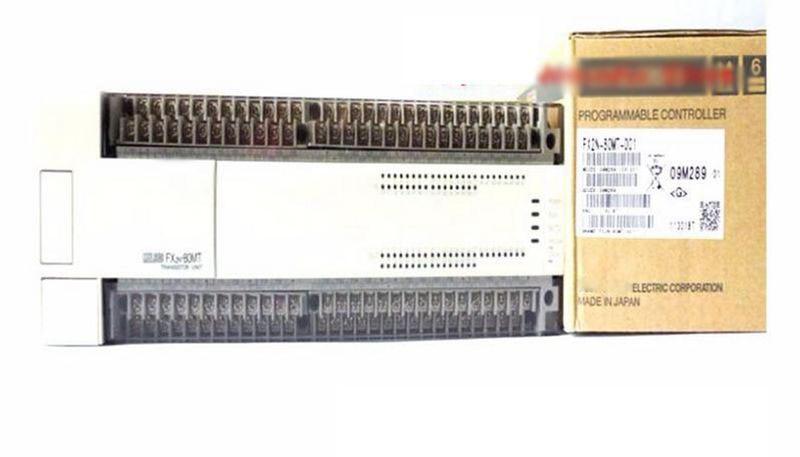 NEW FX2N-80MT-D PLC Main Unit DI 40 DO 40 Transistor DC 24V new fx3uc 16mt d plc main unit di 8 do 8 transistor 24v dc