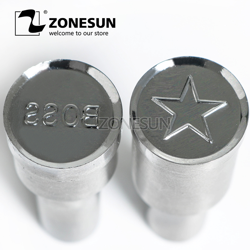 ZONESUN Star shape Tablet Press 3D Punch Mold Candy Milk Punching Die Custom Logo For punch die TDP 5 Machine Free Shipping free shipping punching press mold 30mm free length green die moulds spring 10pcs lot