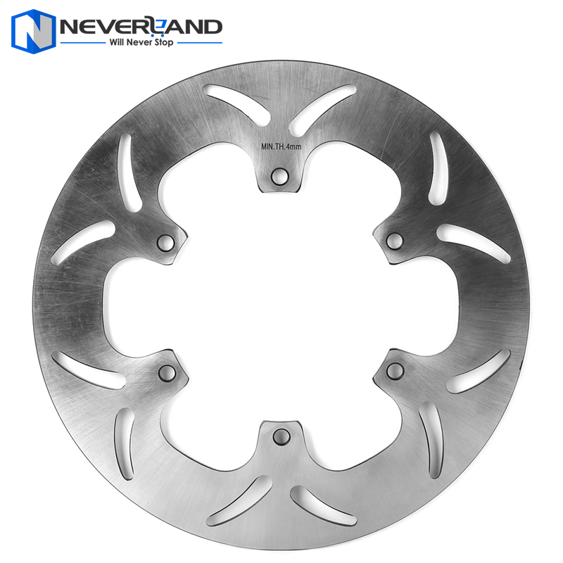 1pcs Rear Brake Disc Rotor For YAMAHA FJR ABS 1300 2003-2015 XVS DRAG STAR 1100 1999-2006 Motorcycle free shipping motorcycle brake disc rotor fit for yamaha mt03 660 2006 2011