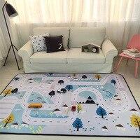 190X150 см для гостиная мультфильм детей спальня ковры s и кофе стол области дети играть коврики