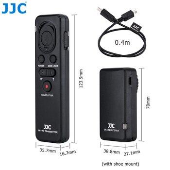 JJC كاميرا لاسلكية التحكم عن بعد لسوني ألفا a7III a7SII a7R a6000 a6300 a6500 الخ. استبدال RMT-VP1K أو RM-VPR1 قائد