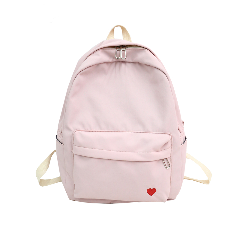 Harajuku Street Fashion School Bag Pack Women Japanese Korean Style Casual Student Backpack Girls Boys Gray Black Pink Knapsack Men's Bags