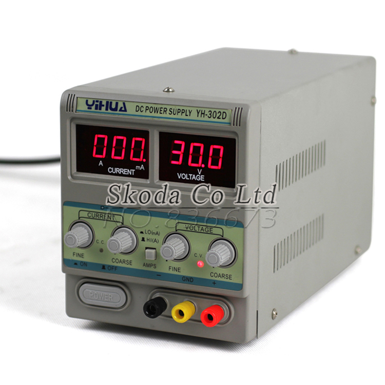 Free shipping YH302D high-precision adjustable DC power supply 30V2A For mobile phone laptop repair A/mA switching power supply kuaiqu high precision adjustable digital dc power supply 60v 5a for for mobile phone repair laboratory equipment maintenance