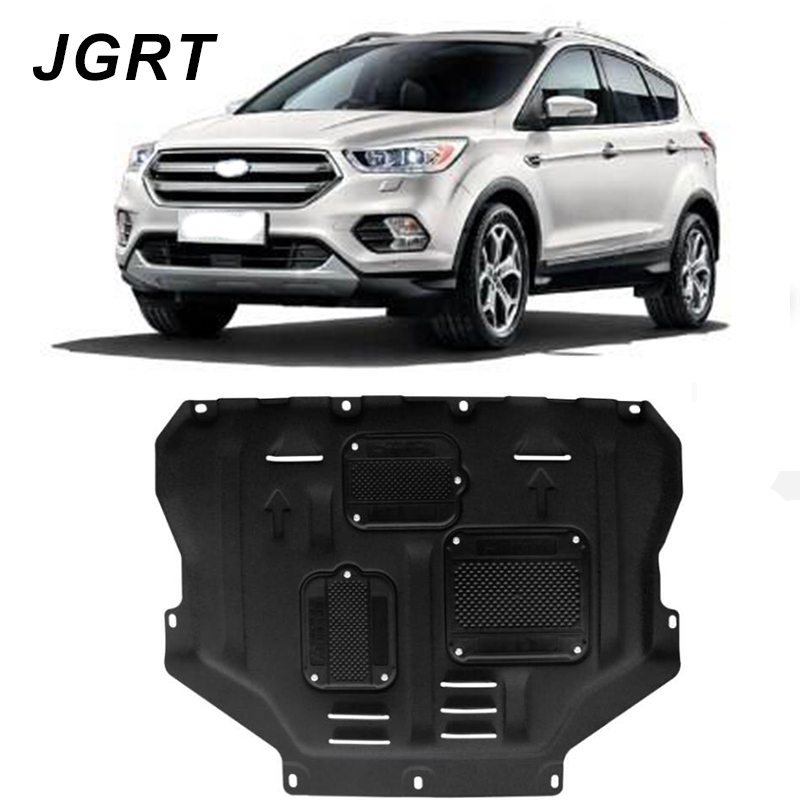 2013-2018 Voor Ford Escape Kuga Plastic Staal Motor Guard Protection Shield Auto Styling