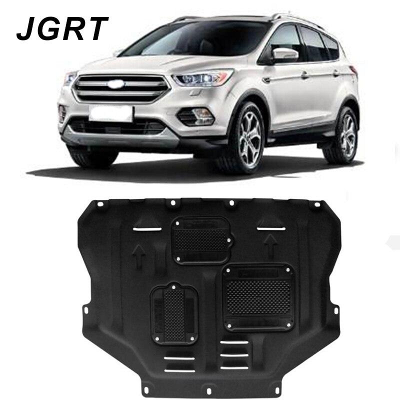 2013-2018 para ford escape kuga motor de aço plástico guarda proteção escudo estilo do carro