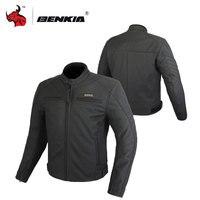 BENKIA кожаная куртка мотоцикла Для мужчин Мотокросс Куртки зимние Водонепроницаемый Мото куртка мотоциклетная Защитная одежда HDF GL72
