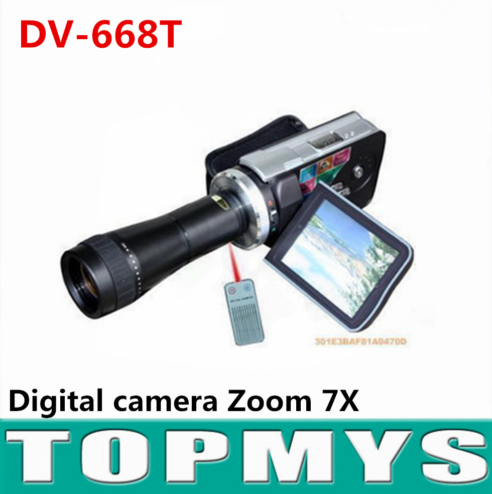 Free shipping New Brand digital camera DV-668T high quality 16.0 Mega pixels 1/2.7
